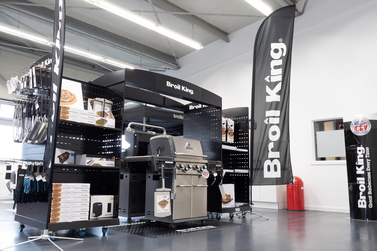 Broil King Showroom bei Illtal Industriegase