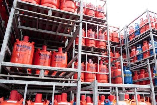 Illtal Industriegase Lagerung