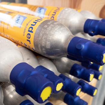 Zylinderkartuschen für Sodageräte