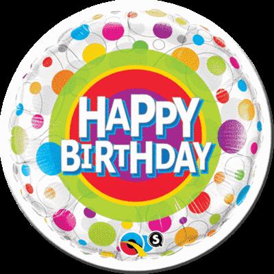 Luftballon Motiv Happy Birthday