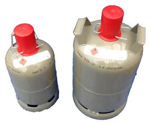Nutzungsflasche Brenngas 5 kg und 11 kg Flasche